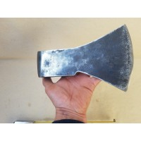 3.44 Lbs SIGNED RARE! VINTAGE GERMAN STEEL AXE HEAD