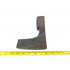 1.96 lbs VINTAGE SIGNED BEARDED AXE HEAD