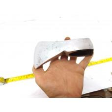 1.42 Lbs SIGNED RARE! VINTAGE GERMAN STEEL AXE HEAD DIAMANT