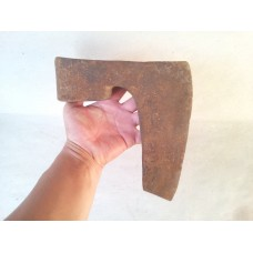 4.0 lbs ANTIQUE BEARDED MASSIVE! GOOSE WING AXE BROAD AX / HATCH