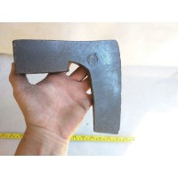 2,97 Lbs SIGNED RARE! GERMAN BEARDED STEEL AXE HATCHET HEAD RIMA