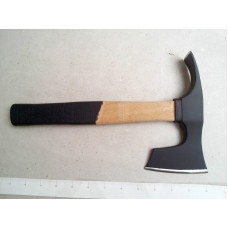 SMALL BEARDED HATCHET / AXE / AXT WITH ADZE - STEEL 4150 !!!