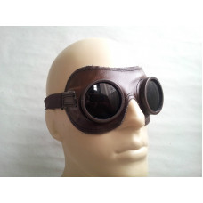 SOVIET RUSSIAN USSR DUST GLASSES FIELD GOGGLES PILOT MOTORCYCLE