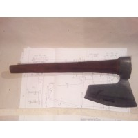 2,7 Lbs EXTR RARE HEWING GOOSEWING BEARDED BROAD AXE - VIKING ST